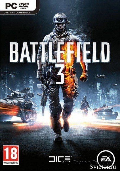 Battlefield v 3 1.6.0.0 + DLC (2011) PC