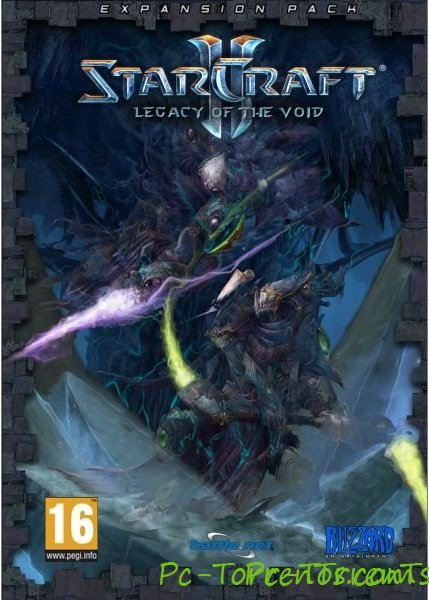 Скачать игру Starcraft 2: Legacy of The Void (2014) - торрент