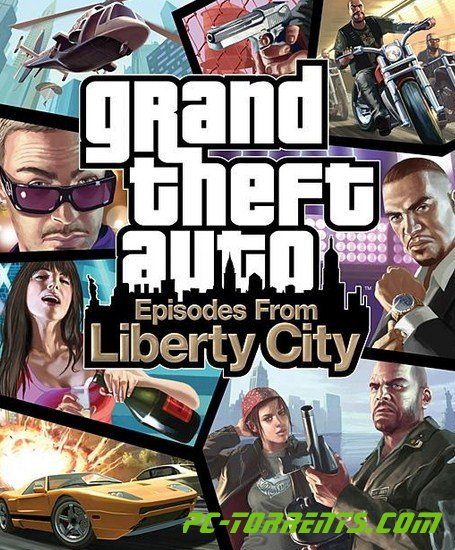 Фото обложка игры Grand Theft Auto IV (GTA 4): Episodes From Liberty City (2010)