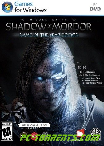 Middle earth: Shadow of Mordor Game of the Year Edition (2014)