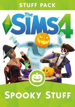 The Sims 4 Spooky Stuff (2015)