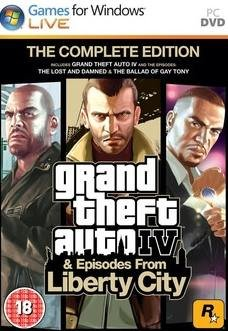 Grand Theft Auto IV - Complete Edition (2010)