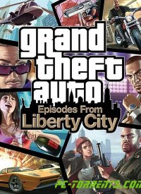 Grand Theft Auto IV (GTA 4): Episodes From Liberty City (2010) - Обложка компьютерной игры